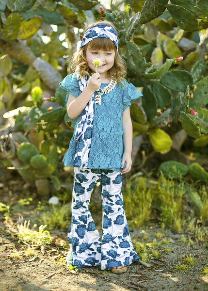 Tahitian Bloom  Bell-Bottoms