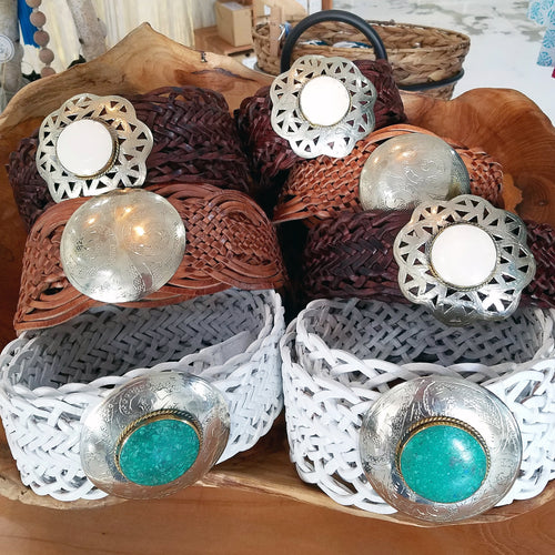 Boho Handmade Leather Belts (choose from 3 styles)