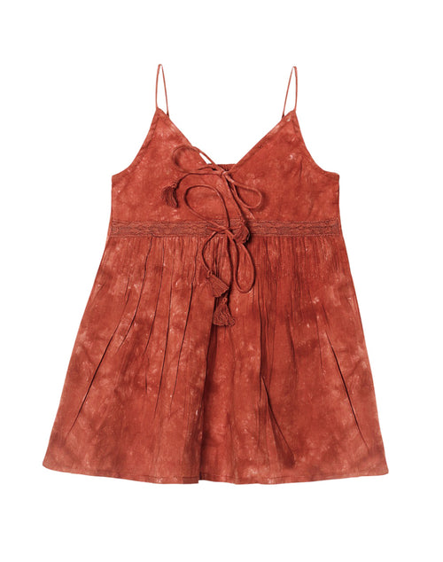 Boho Cotton Tank (Terracotta)