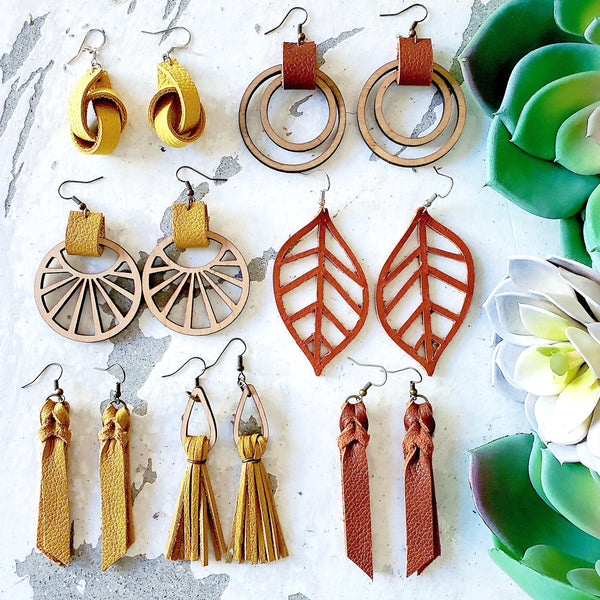 Local Love Earrings (Fall Colors)