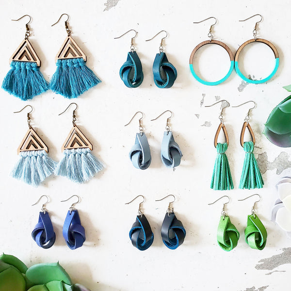 Local Love Earrings (Ocean Colors)