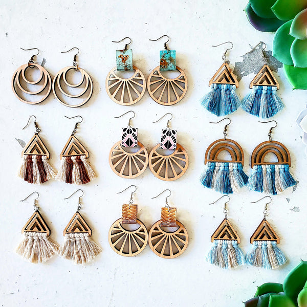 Copy of Local Love Earrings (Sky Colors)