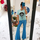 Celstial Sky Bell-Bottoms (Women)