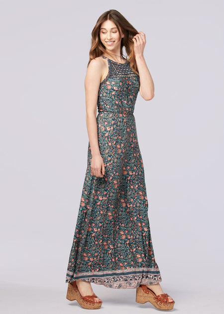 Bohemian Flower Twirl Dress