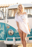 Crochet White Tunic