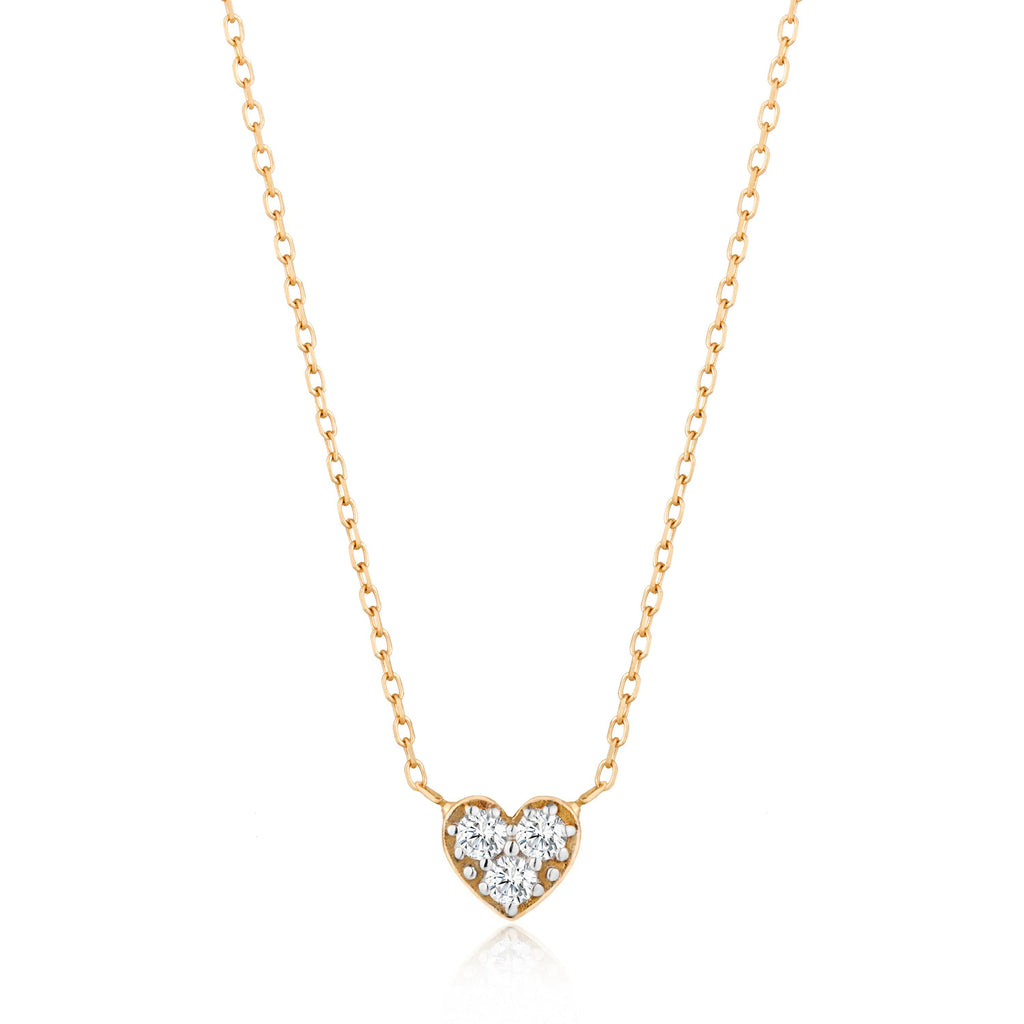 SOPHIE | Diamond Heart Necklace AURELIE GI