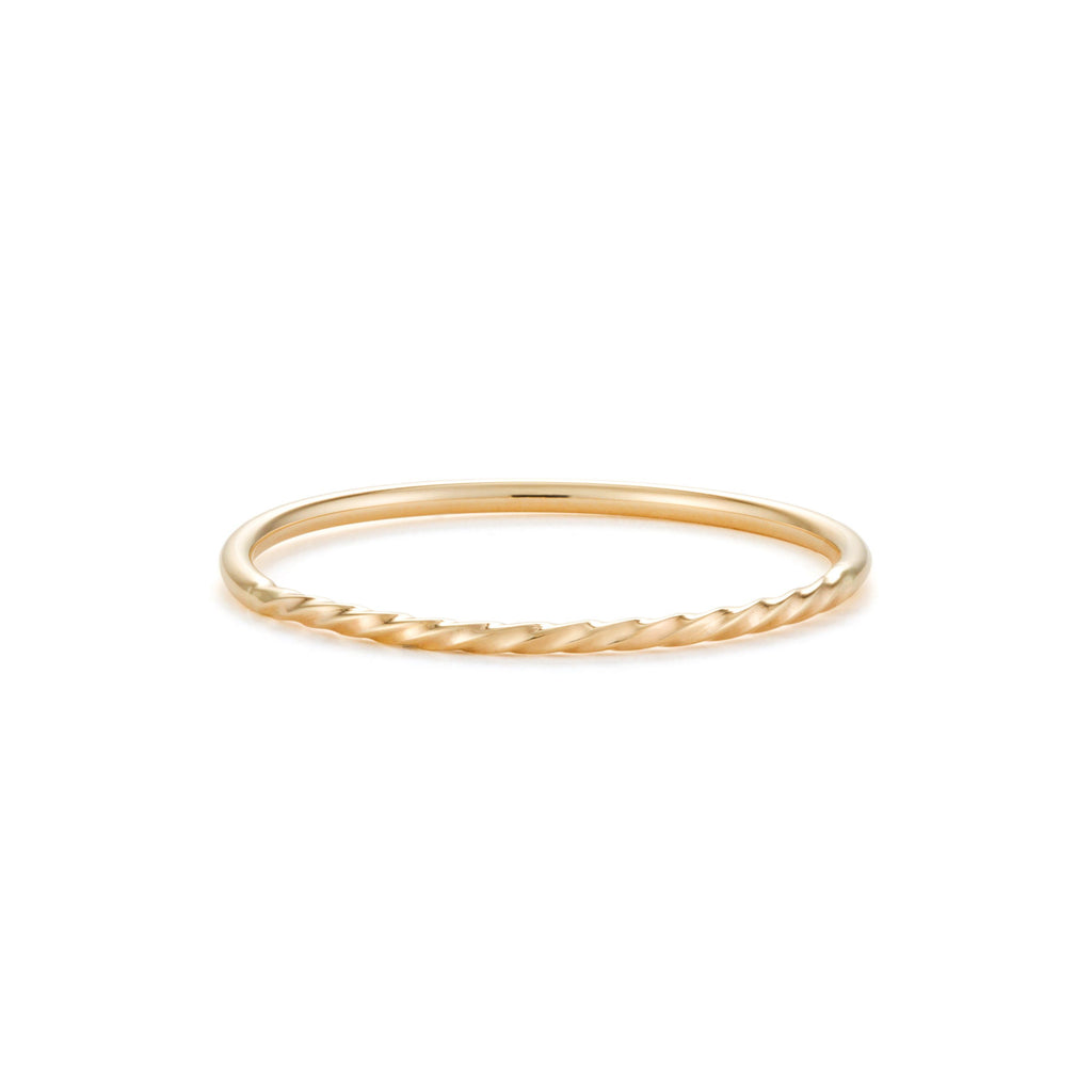 STACIE | Twist Band Stacking Rings AURELIE GI