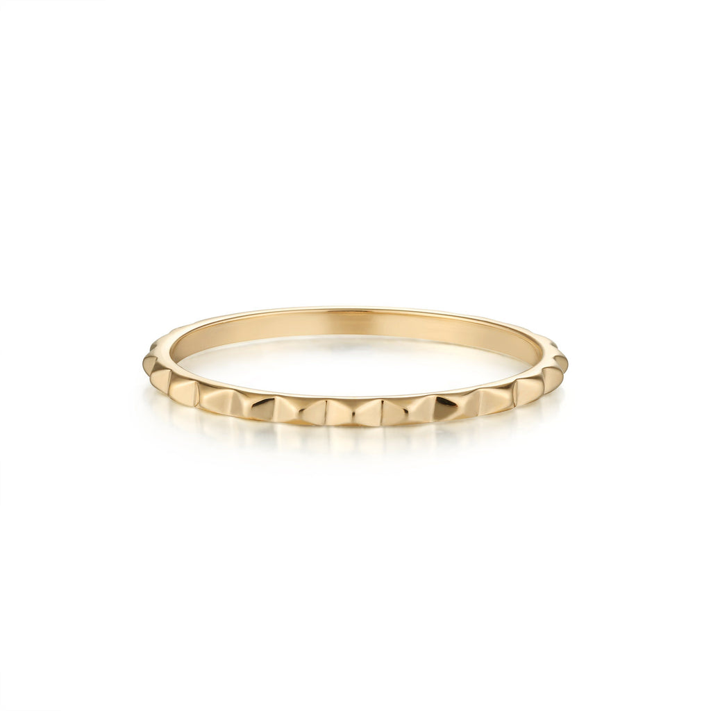 CLEO | Pyramid Band Stacking Rings AURELIE GI