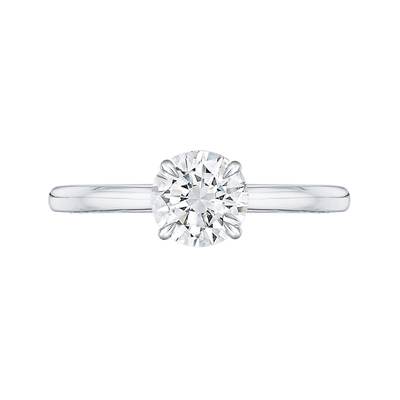 1ct Round Solitaire Engagement Ring Engagement Ring BW James Jewelers