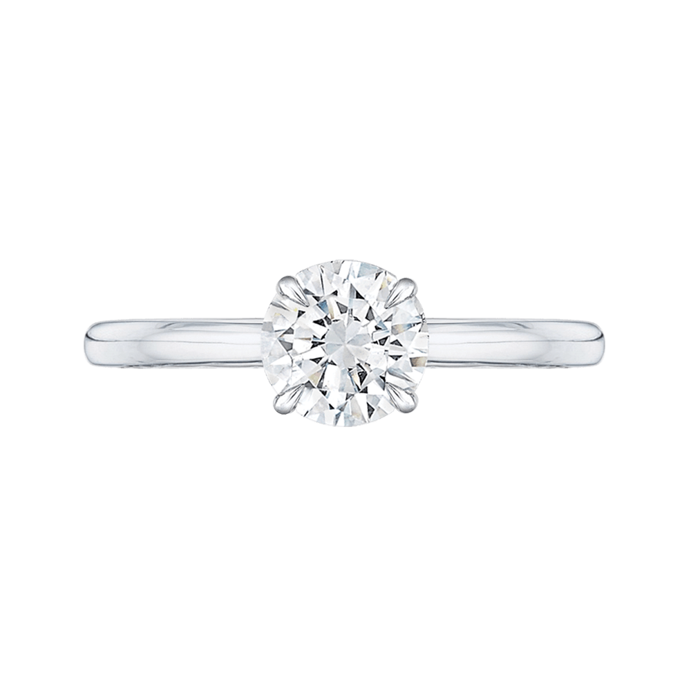Round Solitaire Engagement Ring Engagement Ring BW James