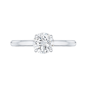 1/2ct Round Solitaire Engagement Ring