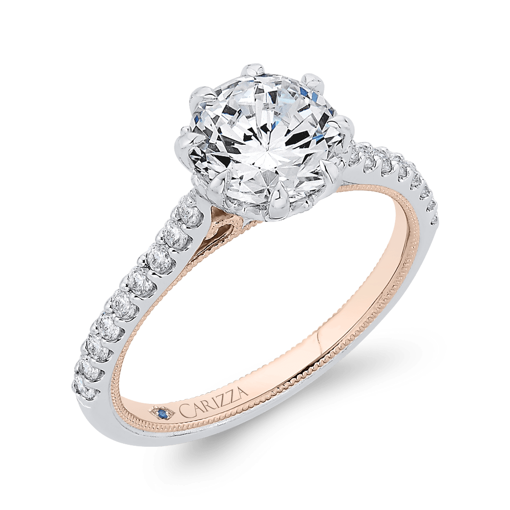 14K-Two-Tone-Gold-Round-Diamond-Engagement-Ring-(Semi-Mount)