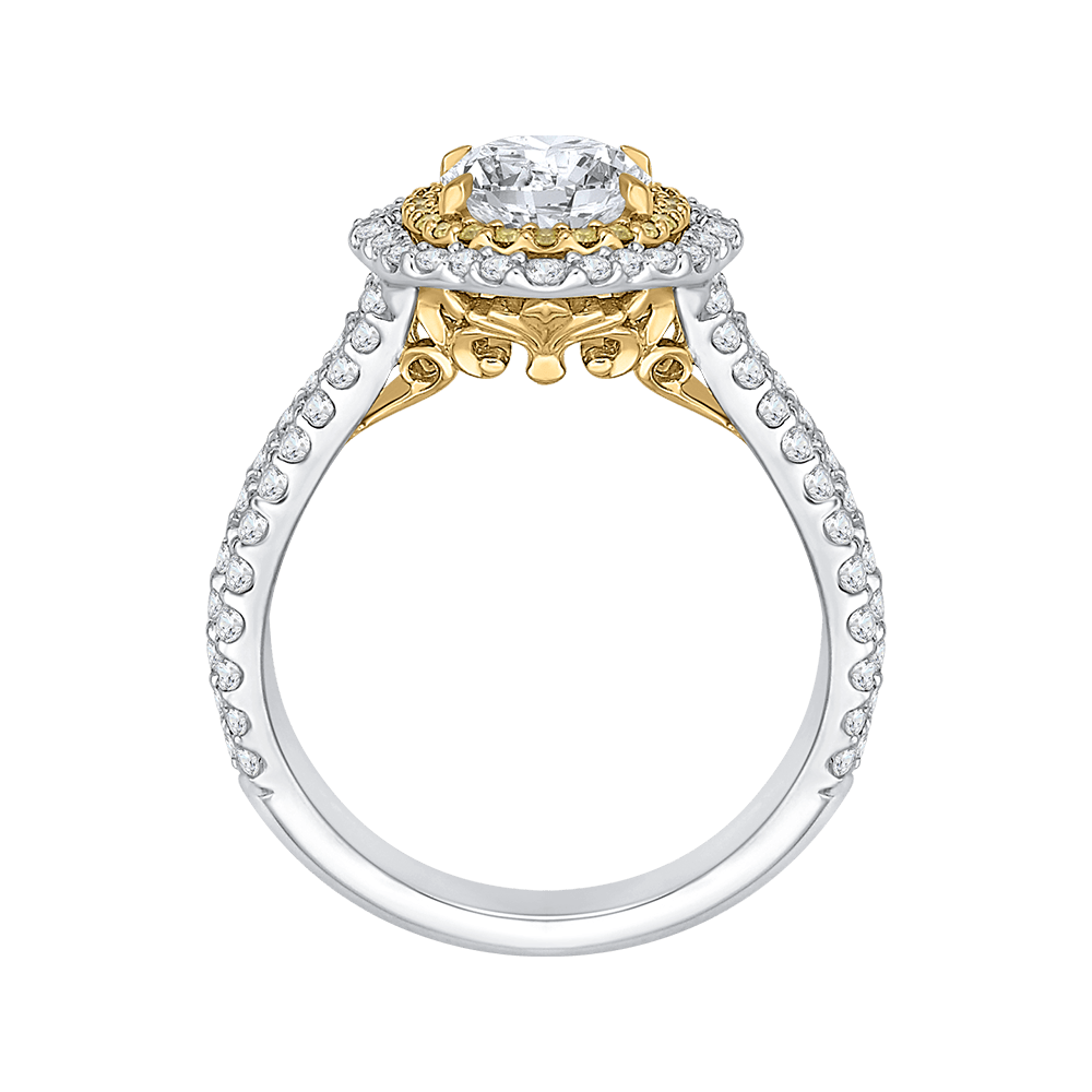 14K-Two-Tone-Gold-Oval-Diamond-Double-Halo-Vintage-Engagement-Ring-(Semi-Mount)