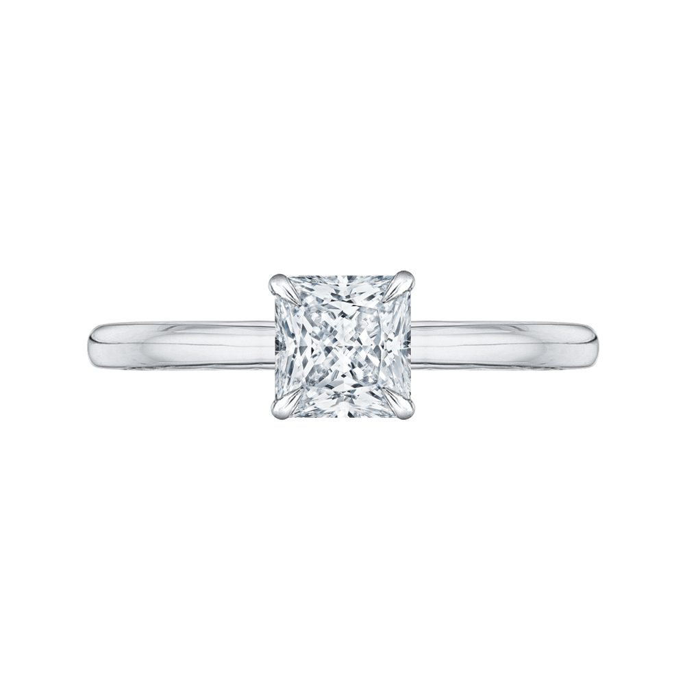 Princess Cut Solitaire Engagement Ring Engagement Ring BW James