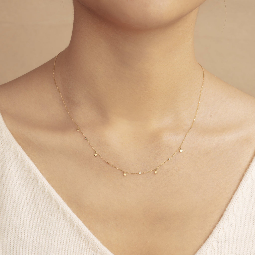 SOMA | Dangling Topaz Necklace AURELIE GI