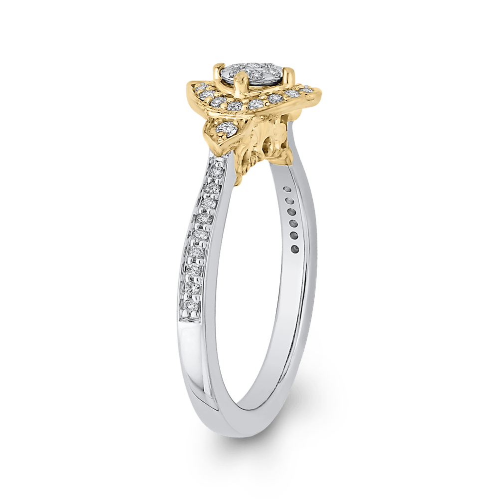 1/3-ct-Round-Diamond-Fashion-Ring-In-10K-Two-Tone-Gold