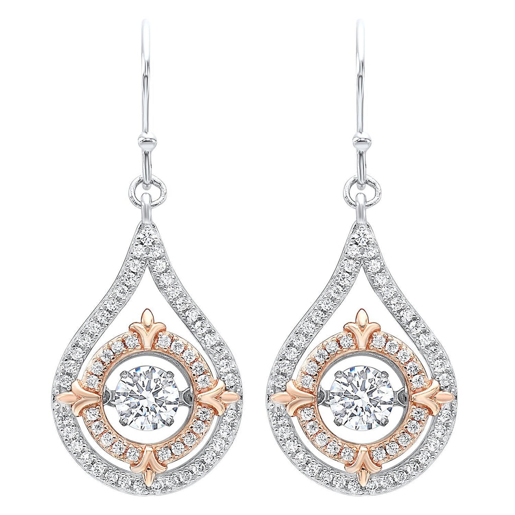 Silver Teardrop Earrings Earrings BW James Jewelers