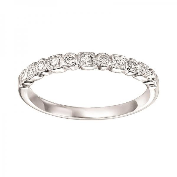 14K Diamond Mixable Ring diamond wedding bands BW James Jewelers