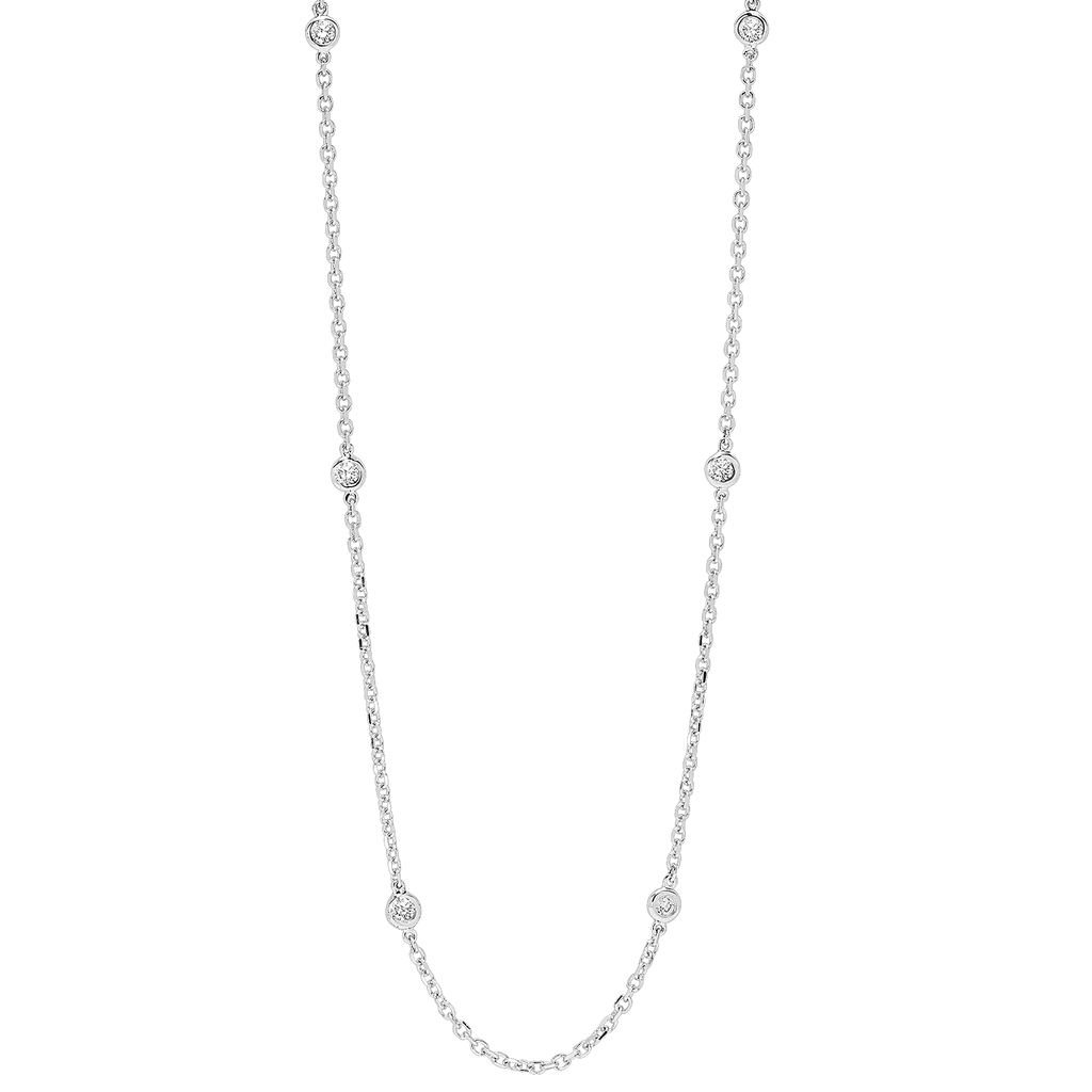 14KTW Diamond D.B.T.Y Fashion Necklace 1/4Ct Necklace BW James Jewelers