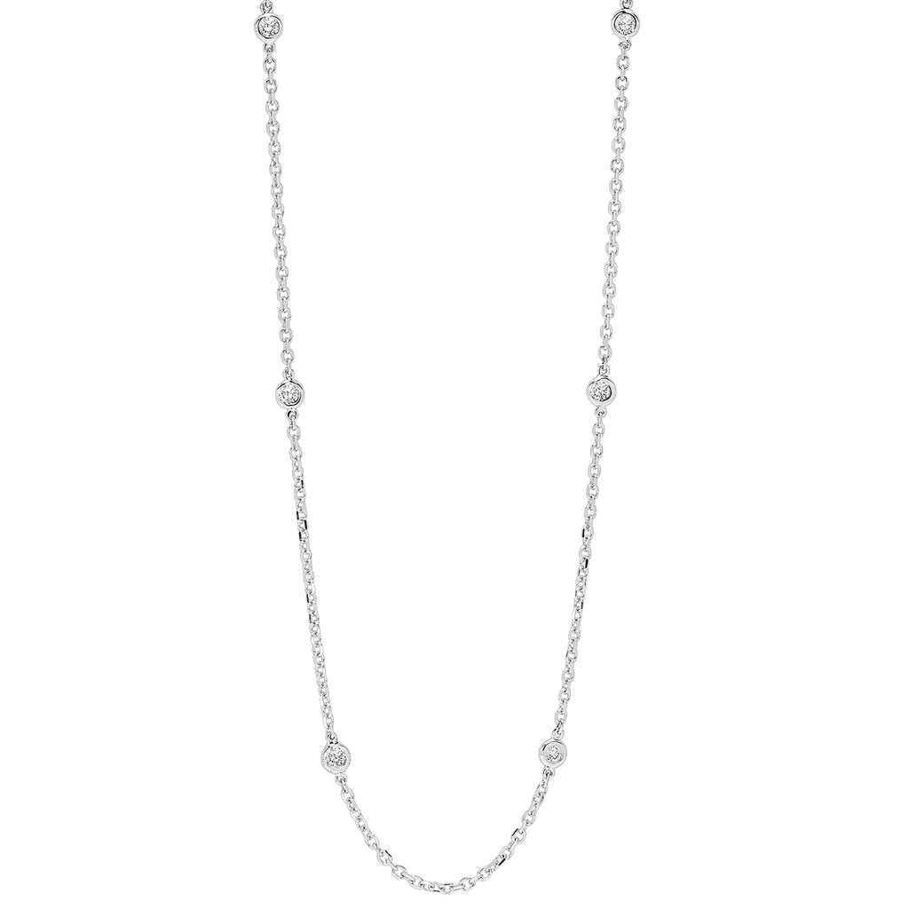 14KTW Diamond D.B.T.Y Flyer Necklace 1 1/2Ct Necklace BW James Jewelers