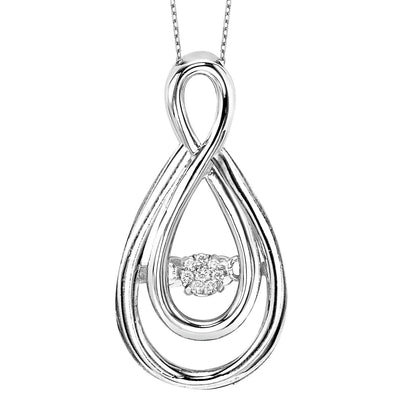 Silver Pendant Necklace BW James Jewelers