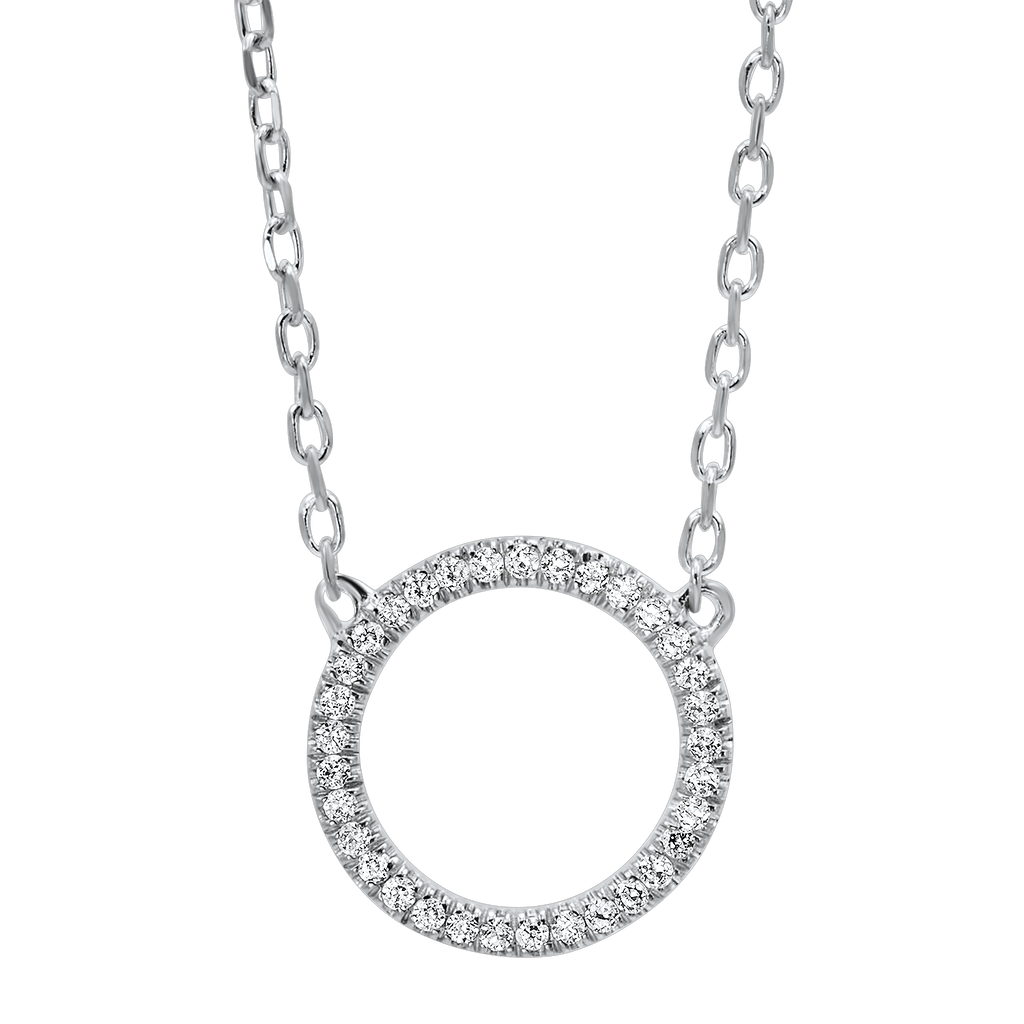 14K Diamond Pendant Pendant BW James Jewelers