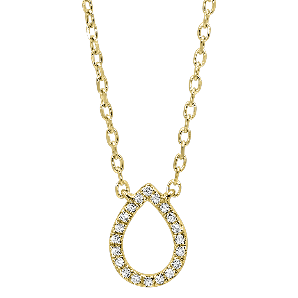 14KY Diamond Pendant Pendant BW James Jewelers