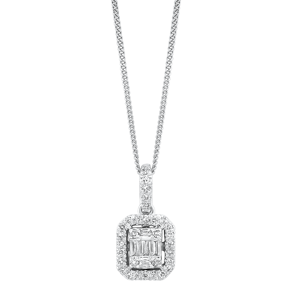 14K Diamond Pendant 1ctw Pendant BW James Jewelers