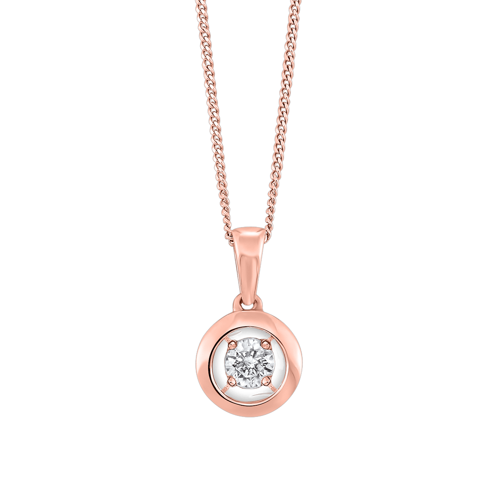 Gold Diamond Pendant Pendant BW James Jewelers
