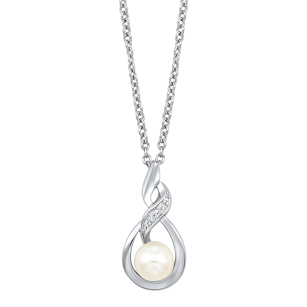 Silver Pearl Pendant Pendant BW James Jewelers