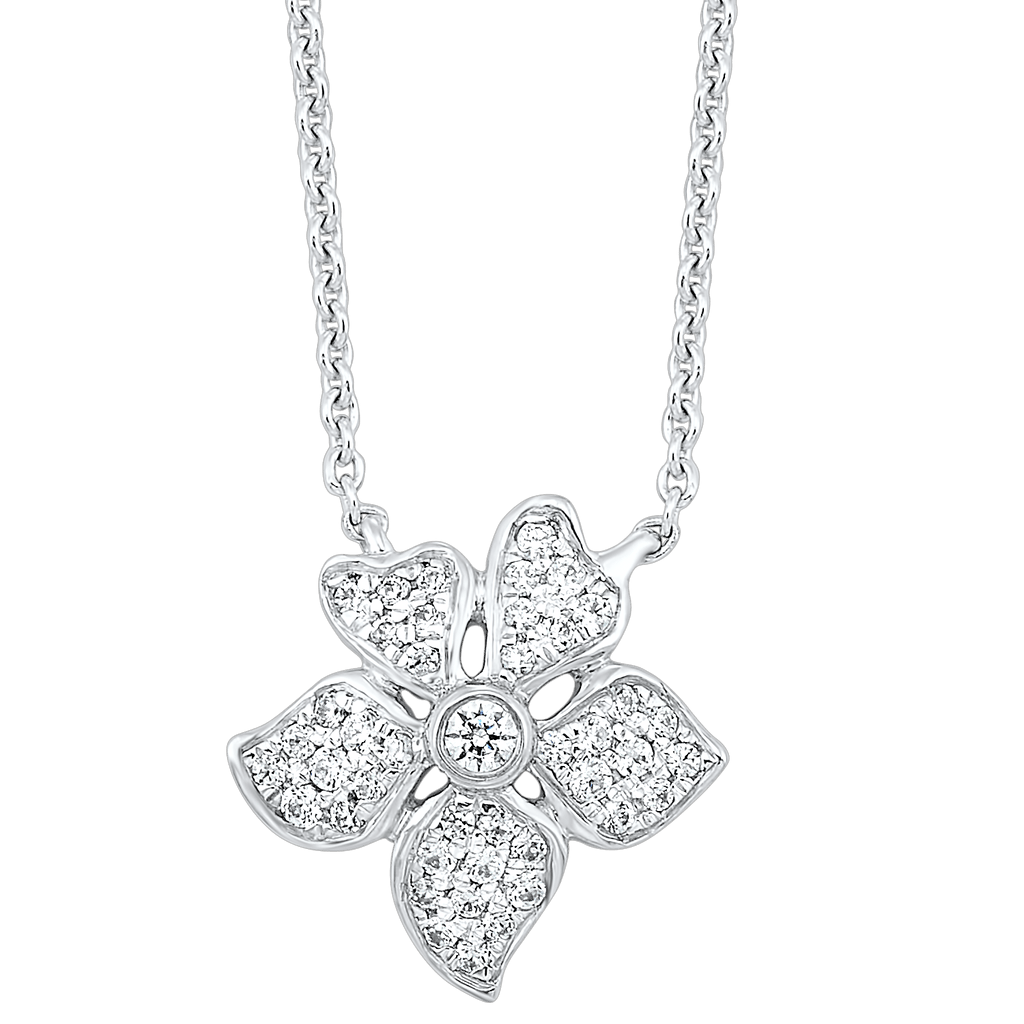 Gold Diamond Pendants 1/5 ctw Pendant BW James Jewelers
