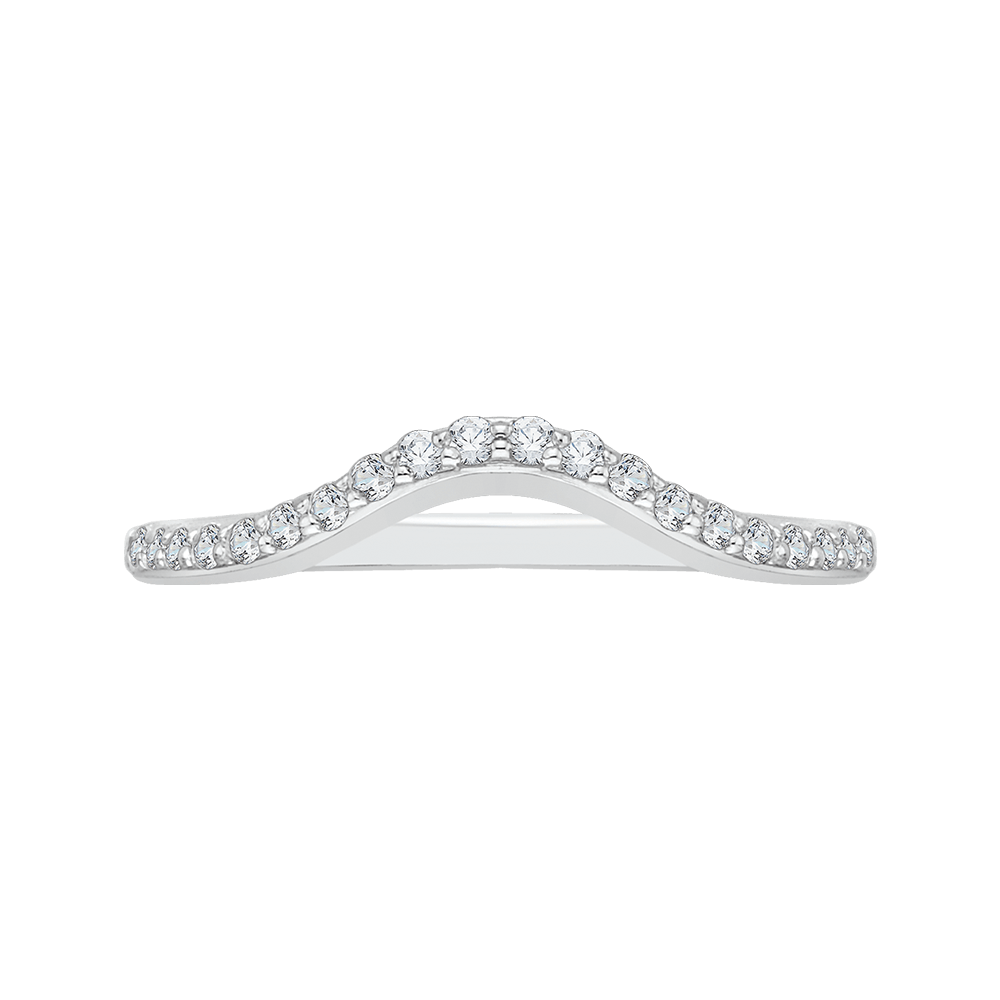 Round Diamond Wedding Band Wedding Band PROMEZZA