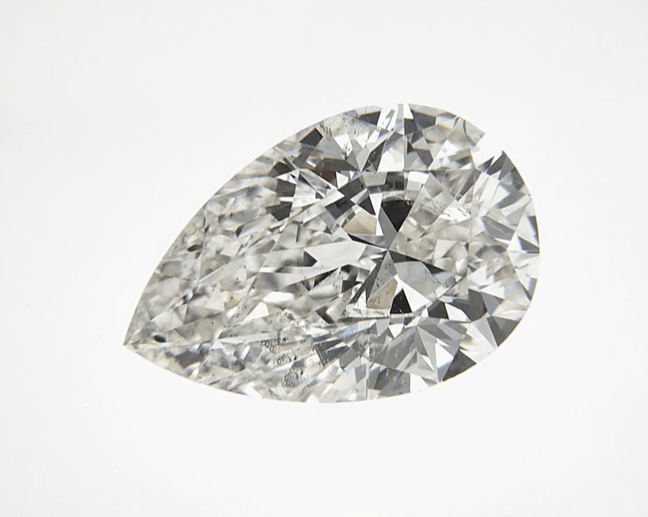 """Good"" .50 Carat Natural Mined Diamond SI2-I1 I/J Pear Cut Loose Stone BW James Jewelers"