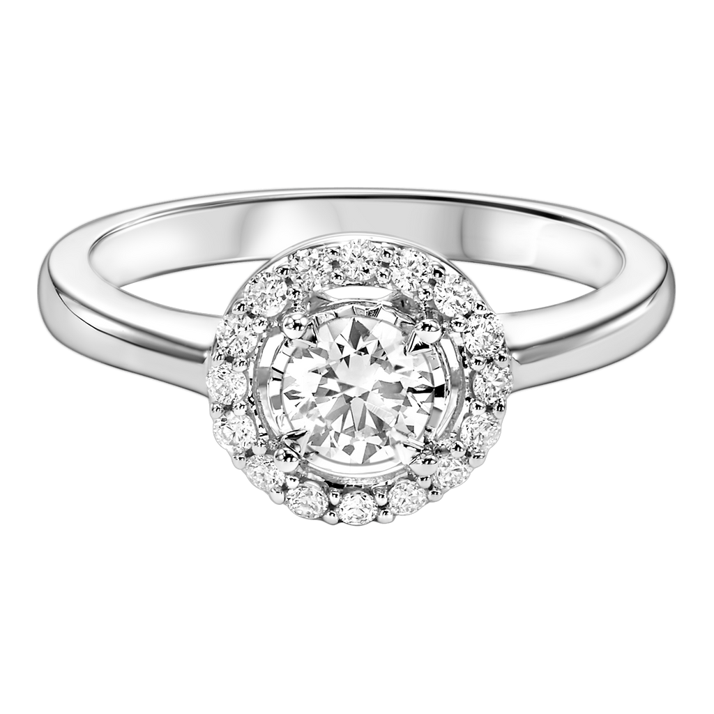 14K Diamond Engagement Ring 1/4 ctw Ring BW James Jewelers