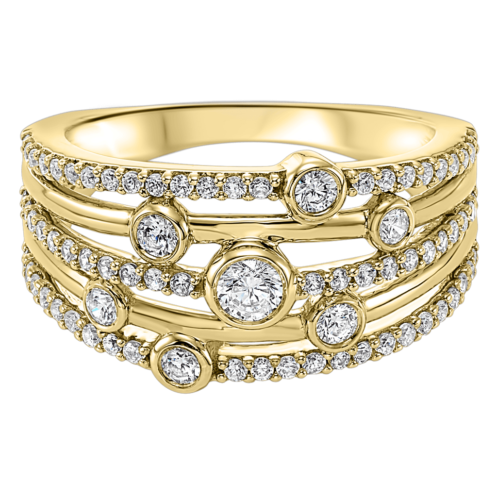 14K YG Diamond ring 3/4ctw Ring BW James Jewelers