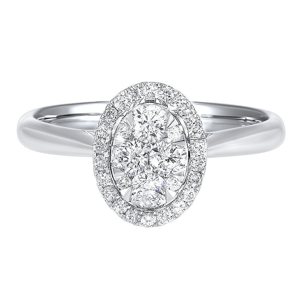 14K Diamond Ring 1/4ctw Ring BW James Jewelers