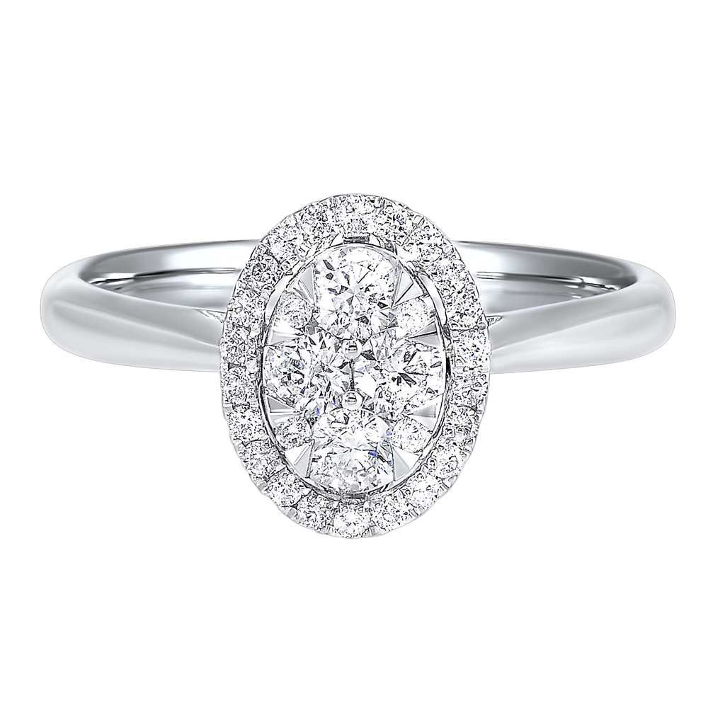 14K Diamond Ring 1/3ctw Ring BW James Jewelers