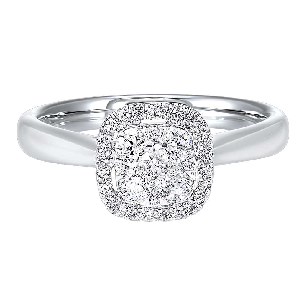14K Diamond Ring 1/2ctw Ring BW James Jewelers