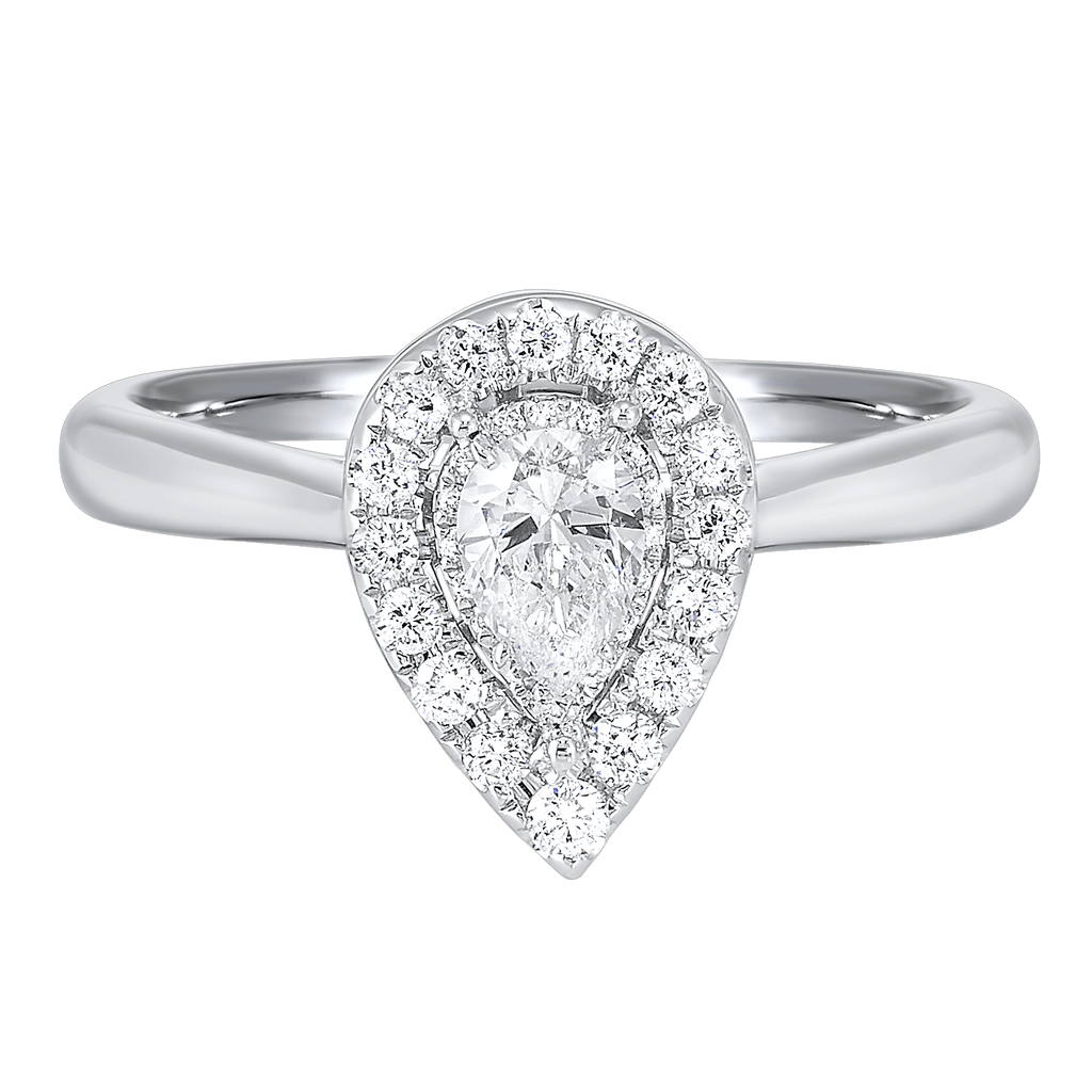 14K Diamond Ring 1/3 ctw Ring BW James Jewelers