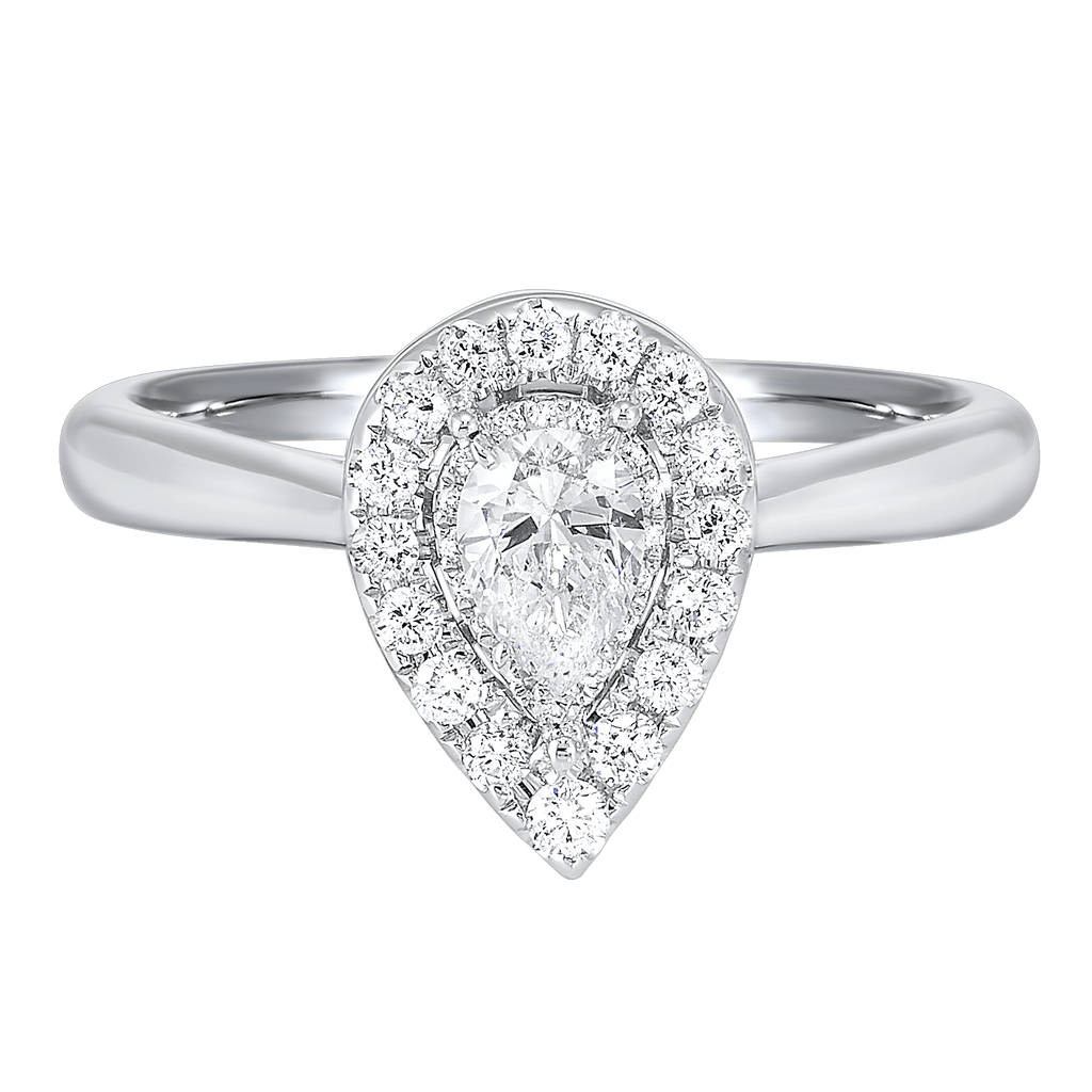 14K Diamond Ring 1/2 ctw Ring BW James Jewelers
