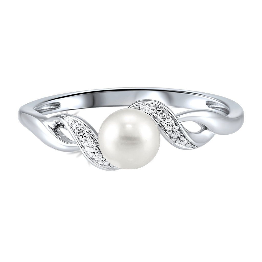 Silver PEARL rings Ring BW James Jewelers
