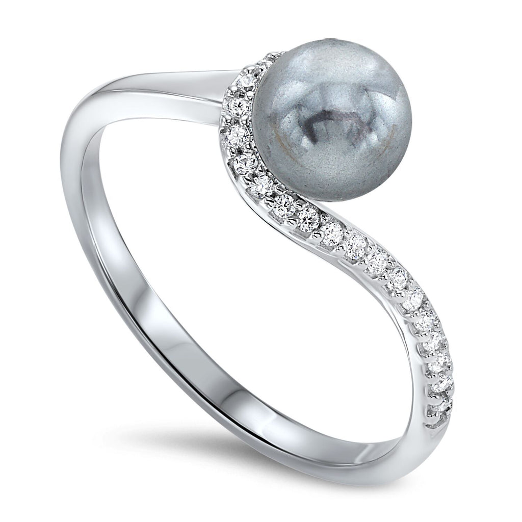 Sterling Silver Pearl Ring Fashion Ring BW James Jewelers