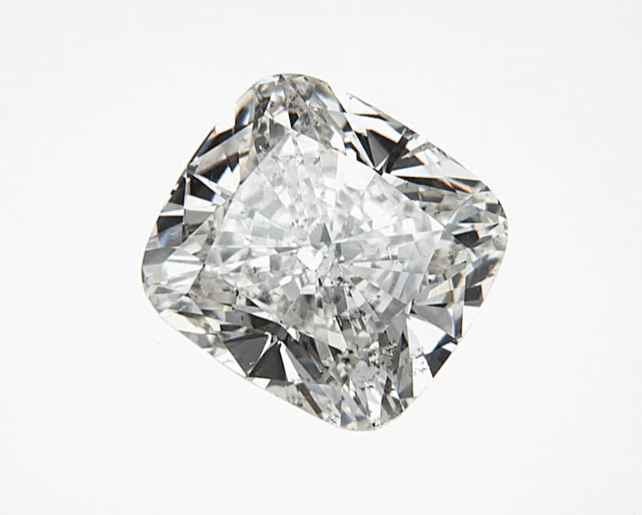 """Good"" .50 Carat Natural Mined Diamond SI2-I1 I/J Cushion Cut Loose Stone BW James Jewelers"