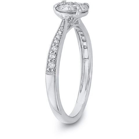 Image of Vintage Classic Diamond Engagemet Ring