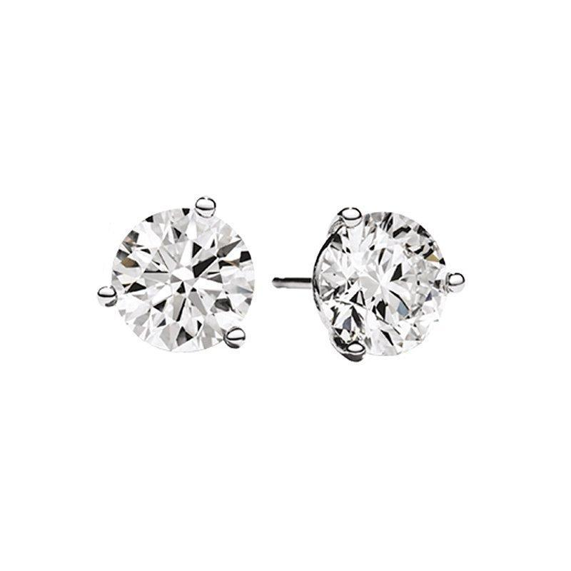 14k Martini Set Diamond Stud Earrings Earrings BW James