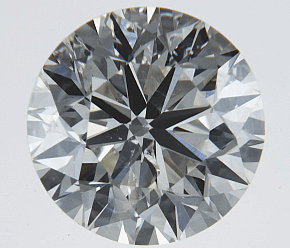 """Good"" .50 Carat Natural Mined Diamond SI2-I1 I/J Round Cut Loose Stone BW James Jewelers"