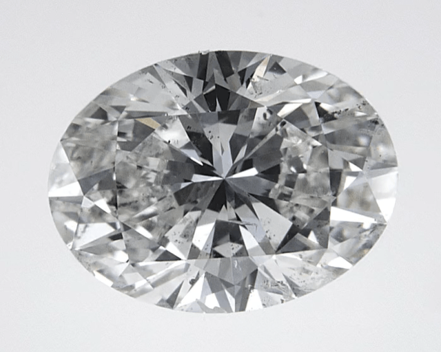 """Good"" .25 Carat Natural Mined Diamond SI2-I1 I/J Oval Cut Loose Stone BW James Jewelers"