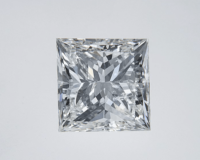 """Good"" .50 Carat Natural Mined Diamond SI2-I1 I/J Princess Cut Loose Stone BW James Jewelers"