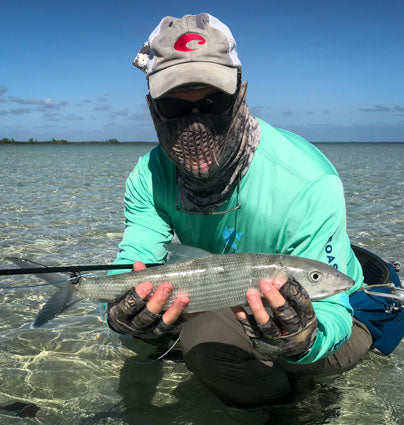 Andy with an Andros bonefish.