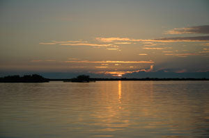 Sunrise on the Mosquito Lagoon
